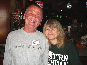Fred Patterson and wife Melanie
