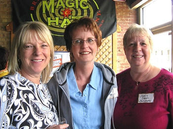 Candie Szpara, Mary Egner, Jackie Odom